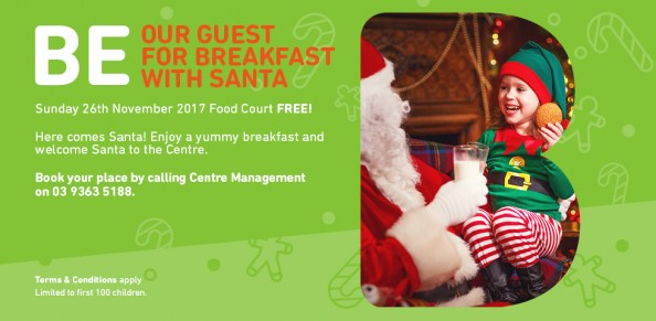 Breakfast with Santa - Booked Out! at Brimbank Shopping Centre