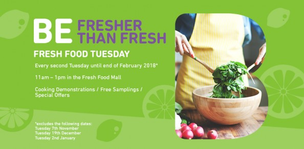 FRESH FOOD TUESDAY at Brimbank Shopping Centre