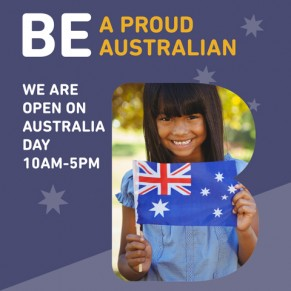 WE ARE OPEN AUSTRALIA DAY at Brimbank Shopping Centre