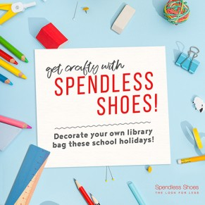 Get Crafty with Spendless Shoes these School Holidays! at Brimbank Shopping Centre