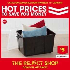 New Reject Shop Catalogue out Now at Brimbank Shopping Centre